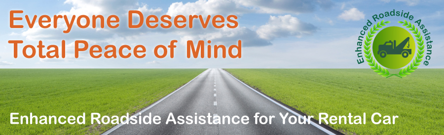 Roadside assistance banner